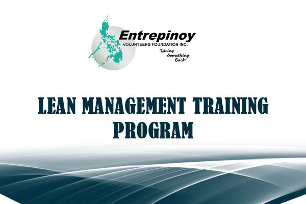 Lean Management Training Program for Micro, Small and Medium Enterprises (MSMEs)