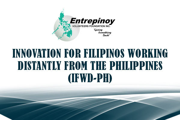 Innovation for Filipinos Working Distantly from the Philippines (iFWD-PH)